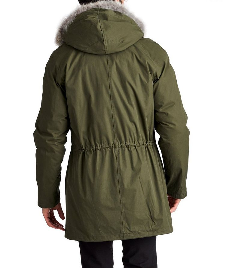 YS ARMY Water-Repellent Fur-Lined Parka image 1