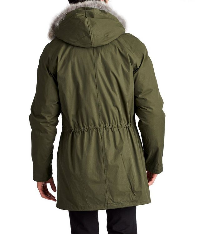 YS ARMY Water-Repellent Fur-Lined Parka picture 2
