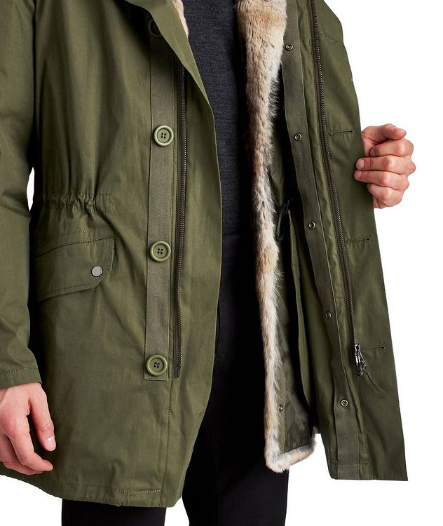 YS ARMY Water-Repellent Fur-Lined Parka picture 4