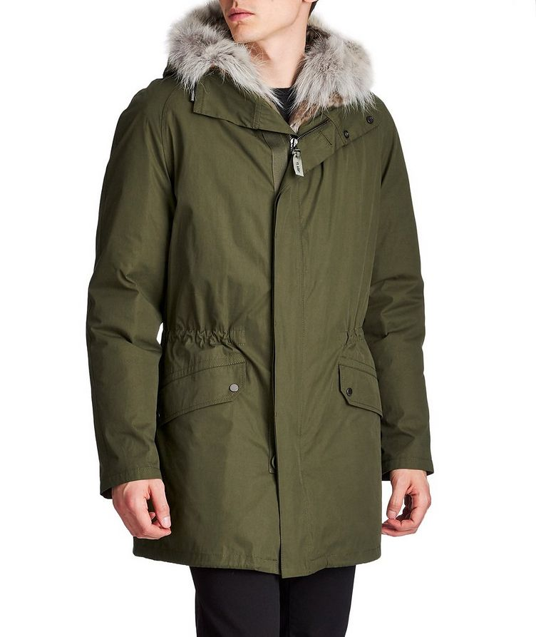 YS ARMY Water-Repellent Fur-Lined Parka image 0