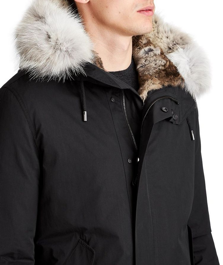 YS ARMY Water-Repellent Fur-Lined Parka image 2