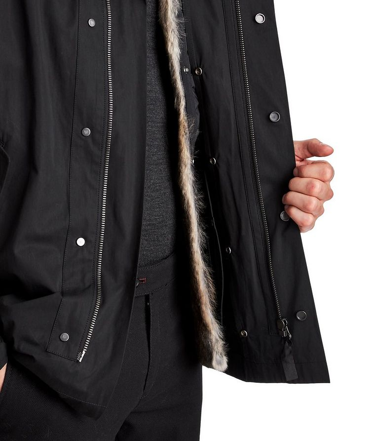 YS ARMY Water-Repellent Fur-Lined Parka image 3