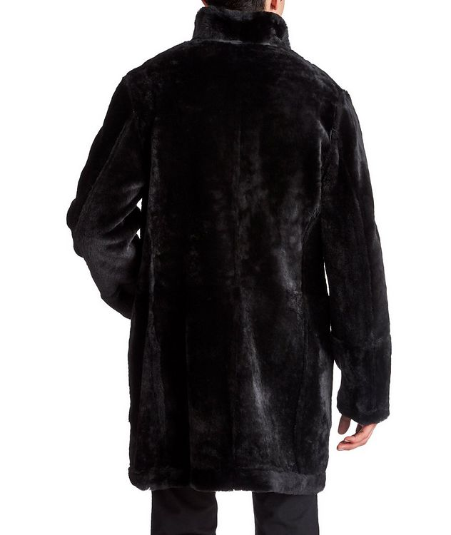Reversible Shearling Coat picture 2