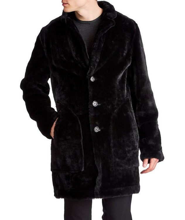 Reversible Shearling Coat picture 1