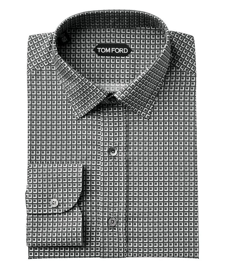 Printed Lyocell-Blend Shirt image 0