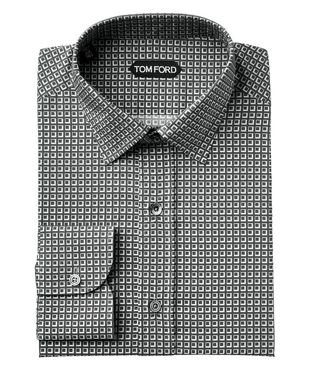 Printed Lyocell-Blend Shirt picture 1