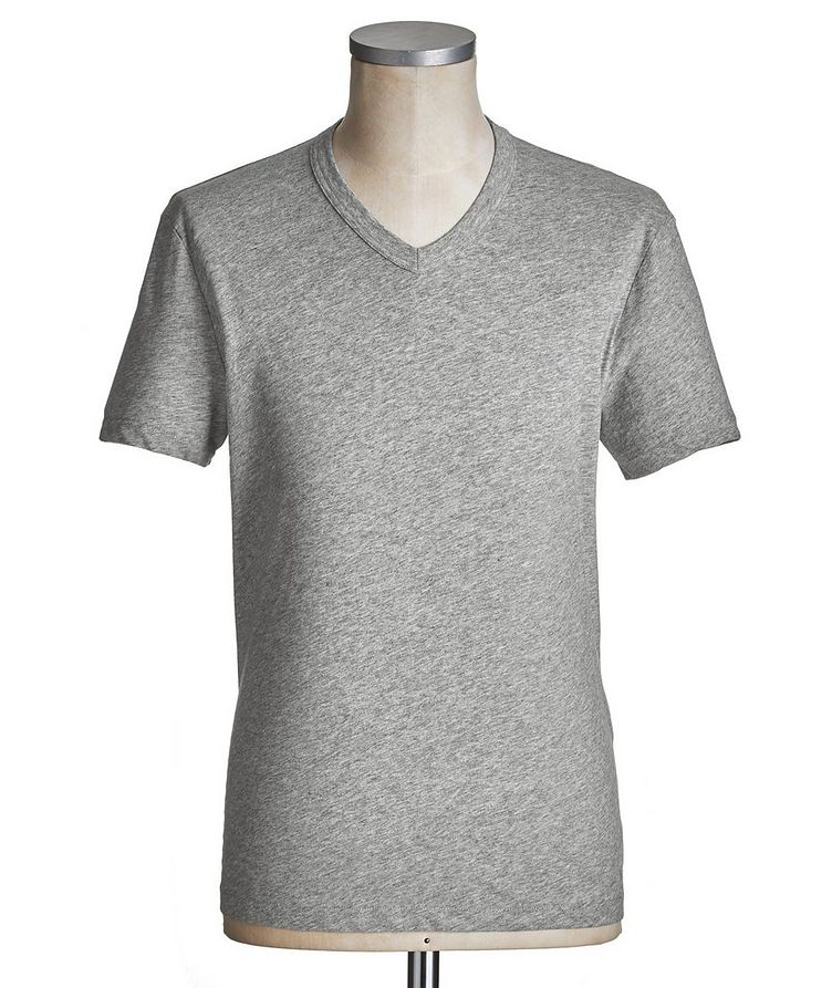 V-Neck Cotton T-Shirt image 0