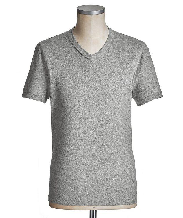 V-Neck Cotton T-Shirt picture 1