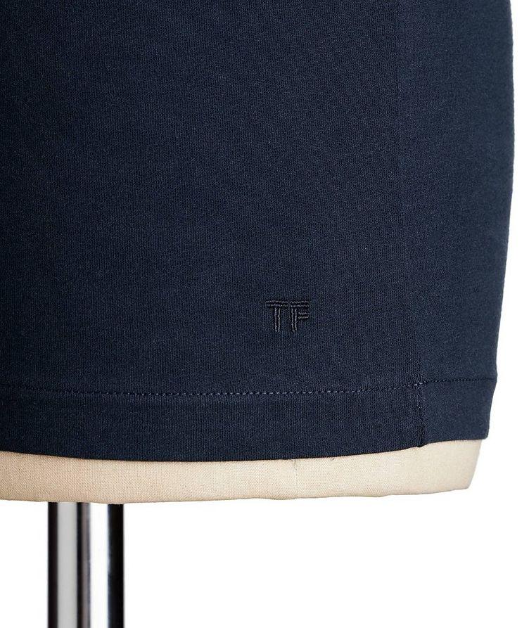 V-Neck Cotton T-Shirt image 1