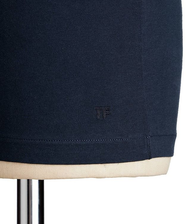 V-Neck Cotton T-Shirt picture 2