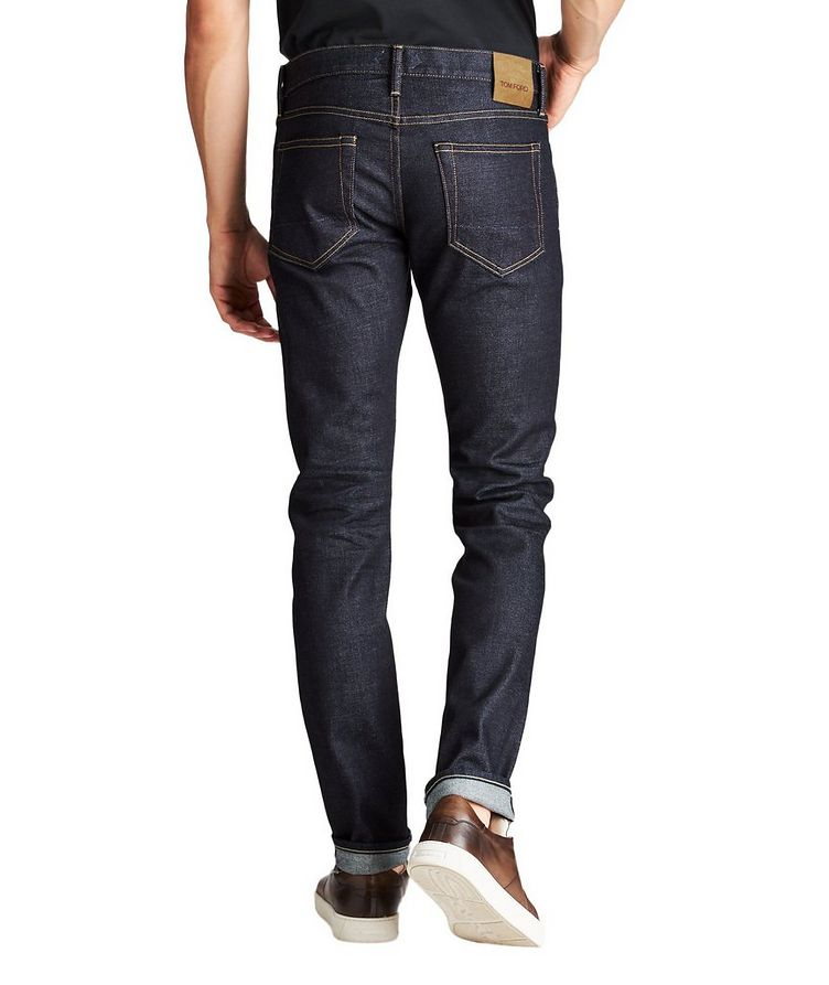 Slim Fit Stretch-Cotton Jeans image 1