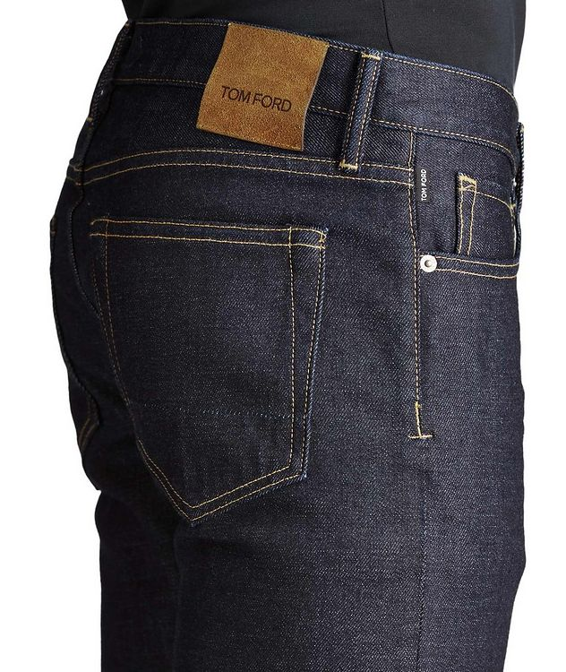 Slim Fit Stretch-Cotton Jeans picture 3
