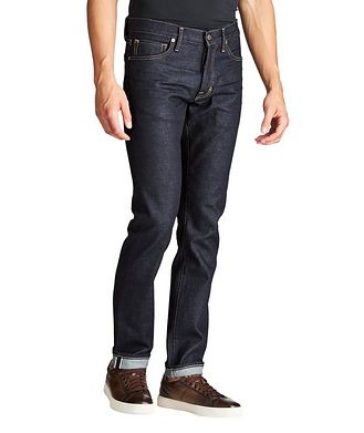 TOM FORD Slim Fit Stretch-Cotton Jeans