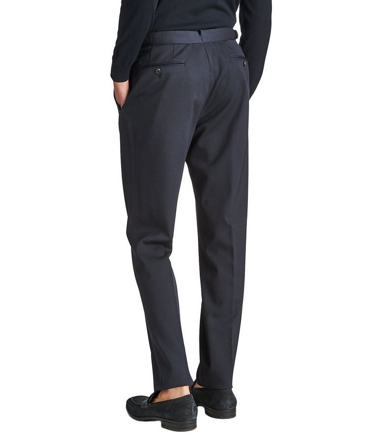 Slim Fit Stretch-Wool Trousers image 1