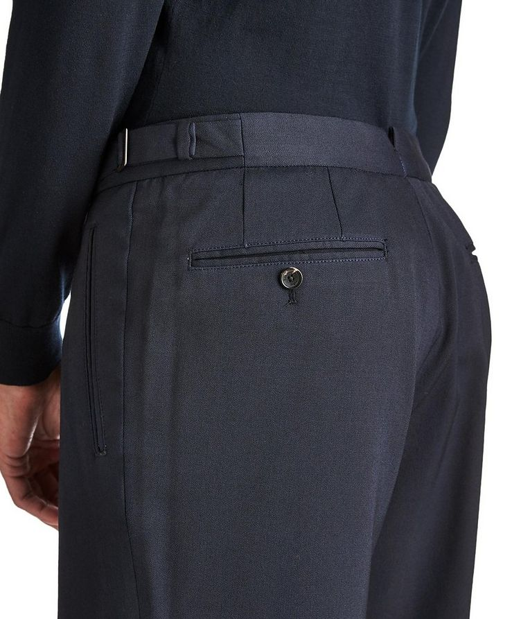 Slim Fit Stretch-Wool Trousers image 2