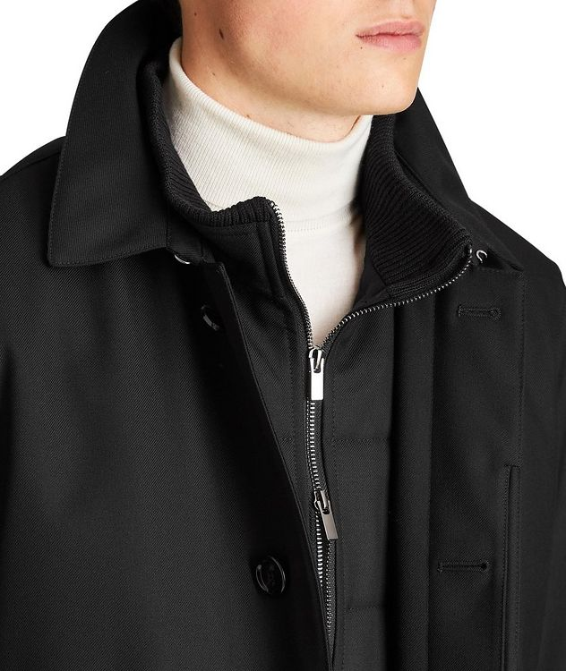 Green Storm System Water-Repellent Coat picture 3