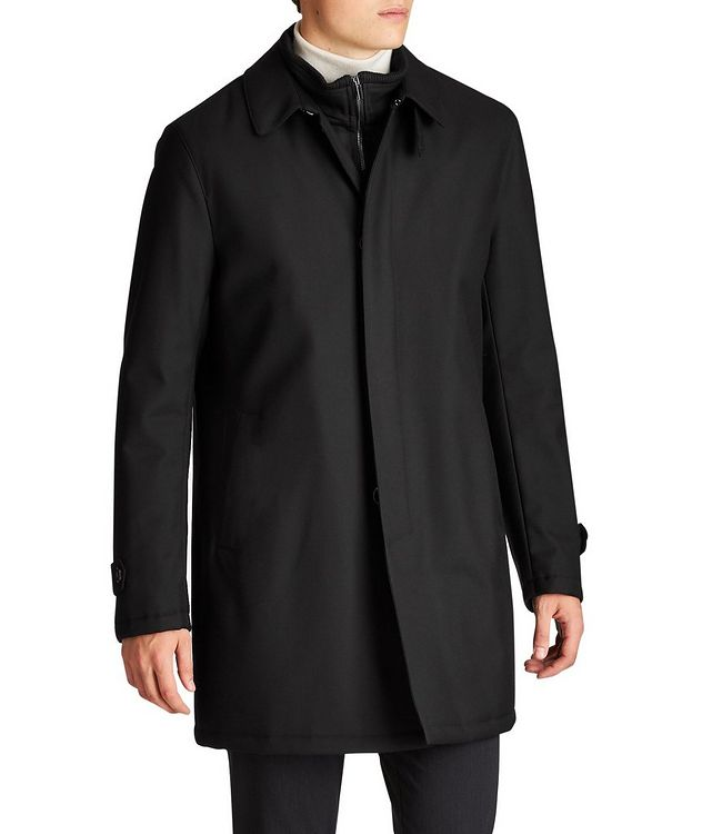 Green Storm System Water-Repellent Coat picture 1
