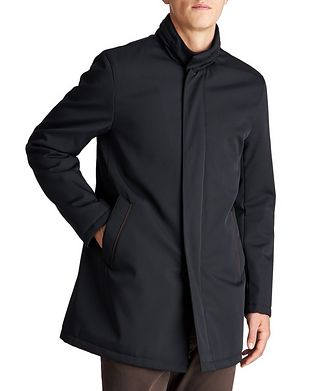 Harry Rosen Connor Green Storm System® Wool Blend Jacket