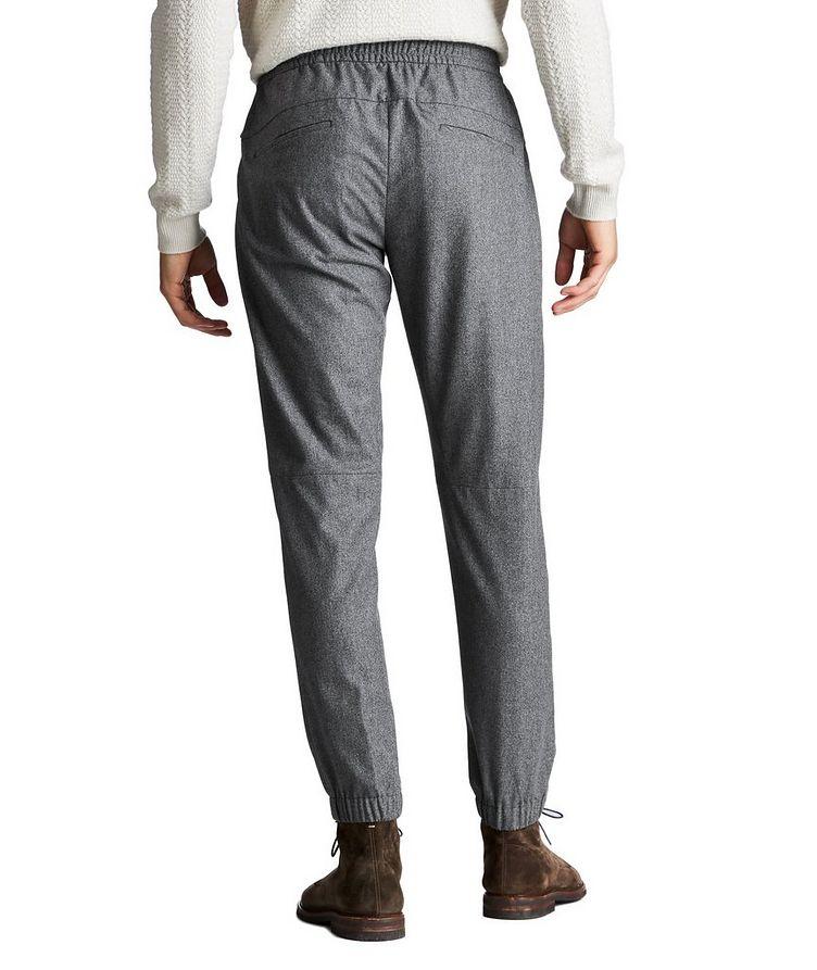 Drawstring Wool, Silk & Cashmere Joggers image 1