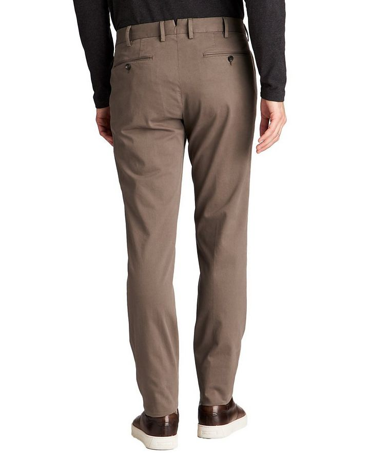 Stretch-Cotton Blend Chinos image 1
