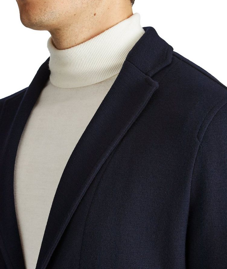 Contemporary Fit Wool Sweater Jacket image 1