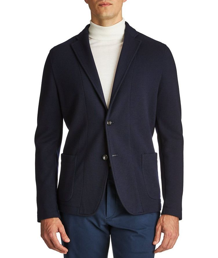 Contemporary Fit Wool Sweater Jacket image 0