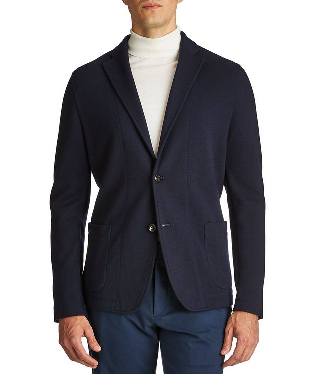 Contemporary Fit Wool Sweater Jacket picture 1