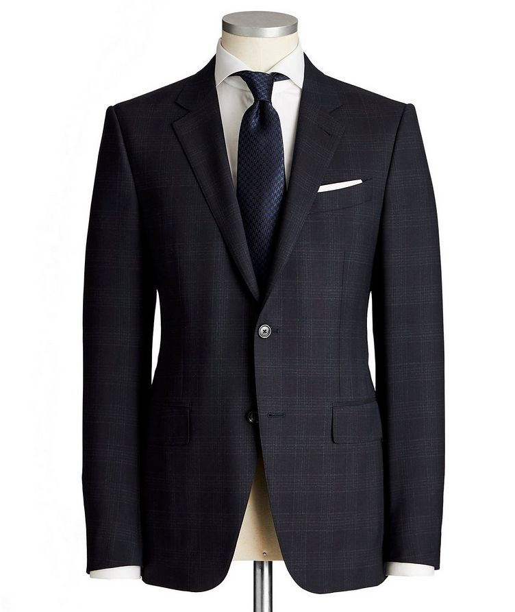Torino Glen Checked Trecapi Suit image 0
