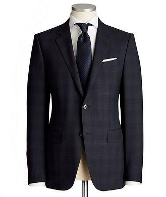 Ermenegildo Zegna Torino Glen Checked Trecapi Suit