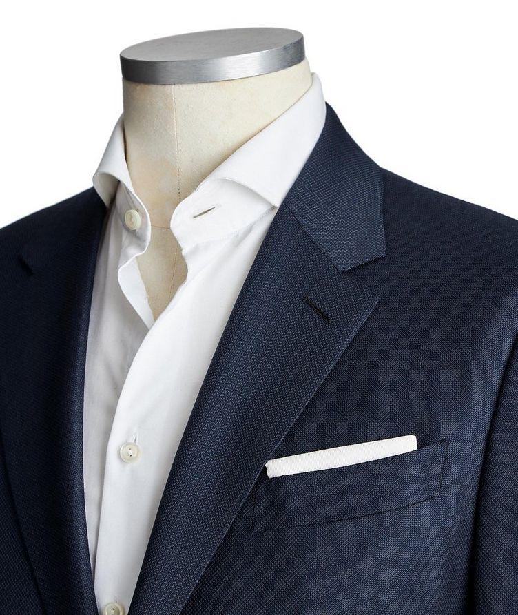 Veston en laine et soie à dix poches image 1
