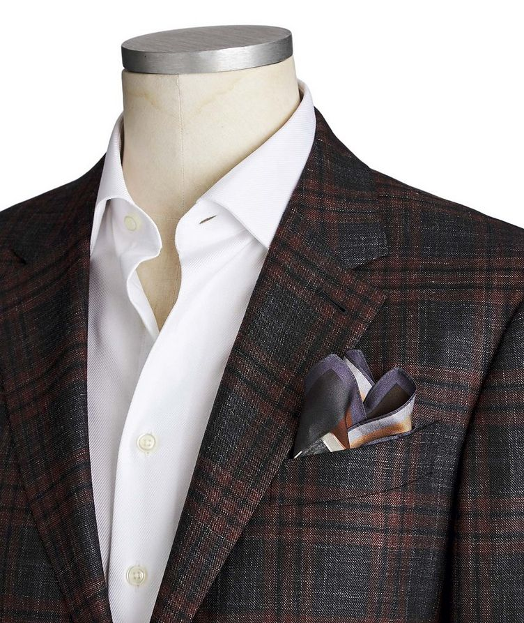 Milano Easy Wool, Cashmere, Silk & Linen Sports Jacket image 1