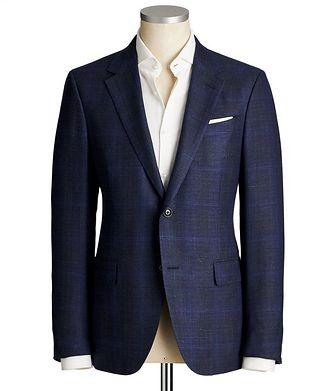 Ermenegildo Zegna Milano Easy Cashmere-Silk Sports Jacket