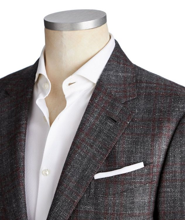 Milano Easy Cashmere, Silk & Hemp Sports Jacket picture 2