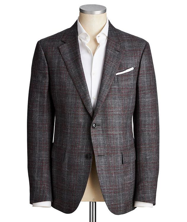 Milano Easy Cashmere, Silk & Hemp Sports Jacket picture 1