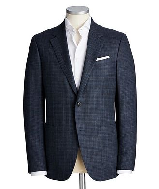Ermenegildo Zegna Milano Easy Wool, Cashmere & Silk Sports Jacket