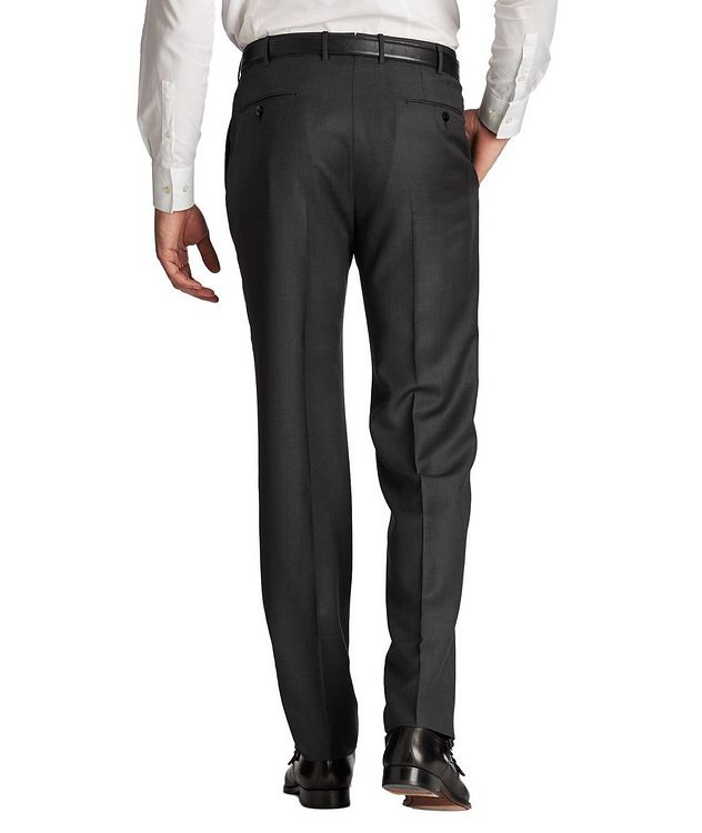 Slim Fit Achill Farm Wool Dress Pants picture 2