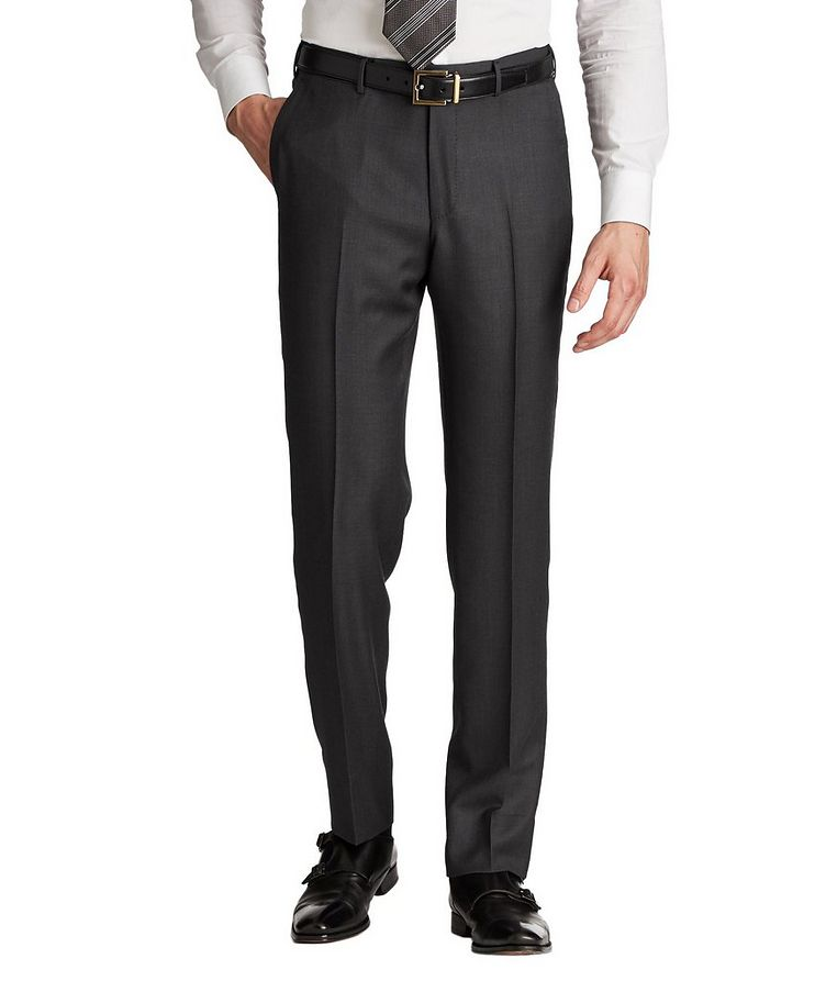 Slim Fit Achill Farm Wool Dress Pants image 0
