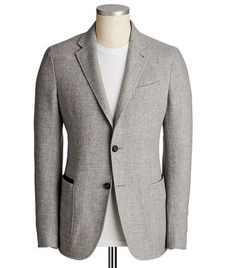 Ermenegildo Zegna Unstructured Wool-Cashmere Sports Jacket