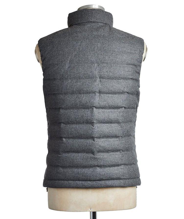 Wool, Silk & Cashmere Down Vest image 1