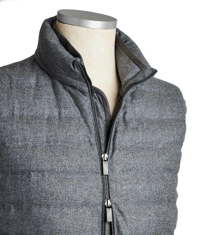 Wool, Silk & Cashmere Down Vest picture 3