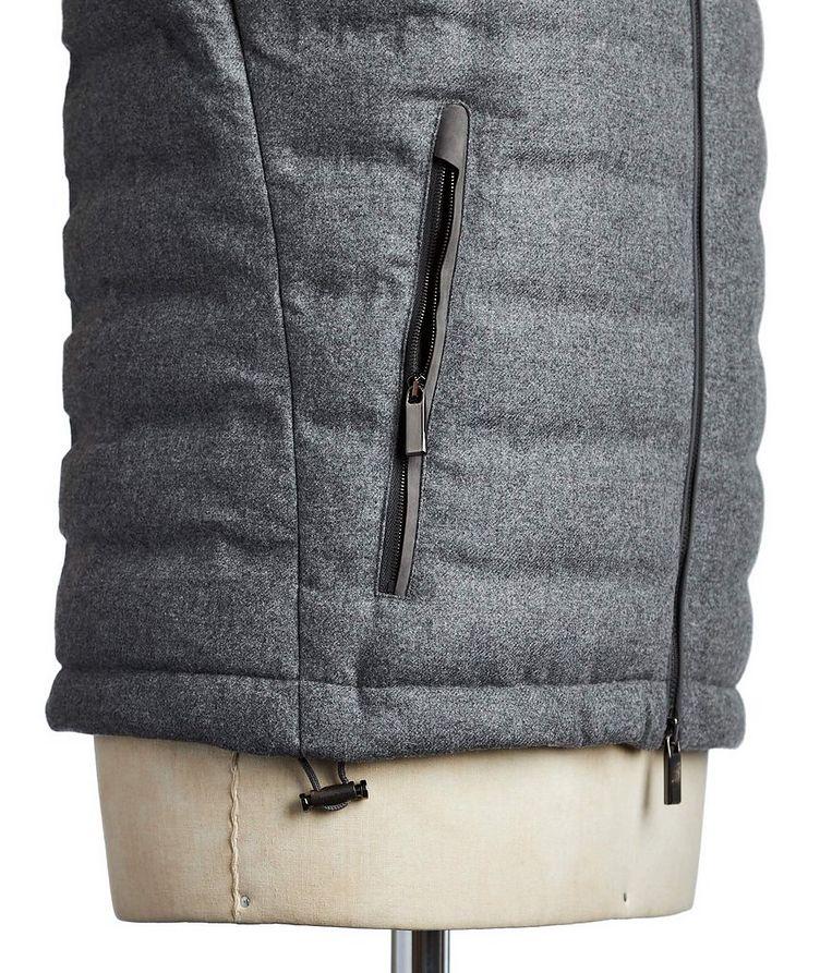 Wool, Silk & Cashmere Down Vest image 3