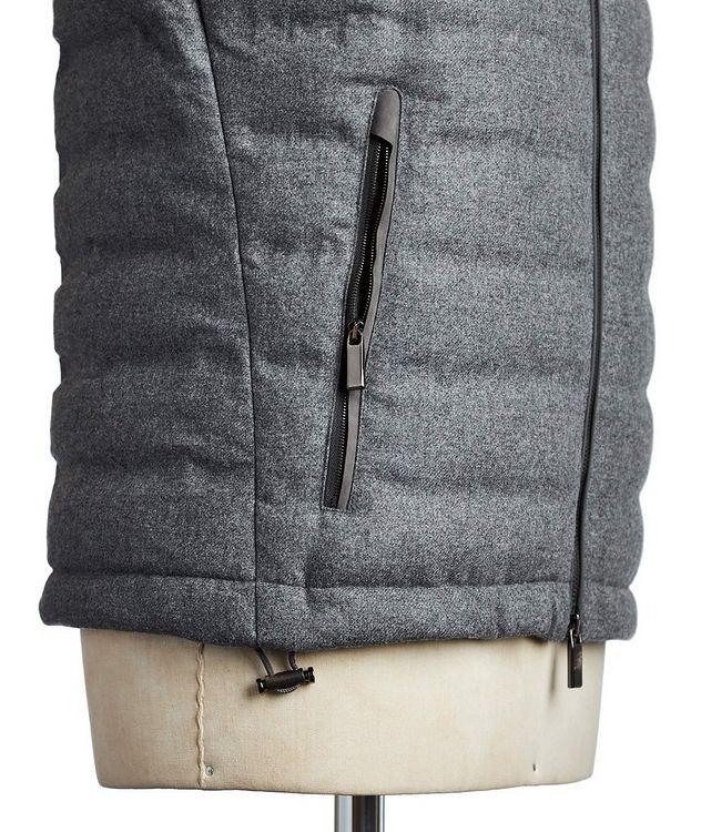 Wool, Silk & Cashmere Down Vest picture 4