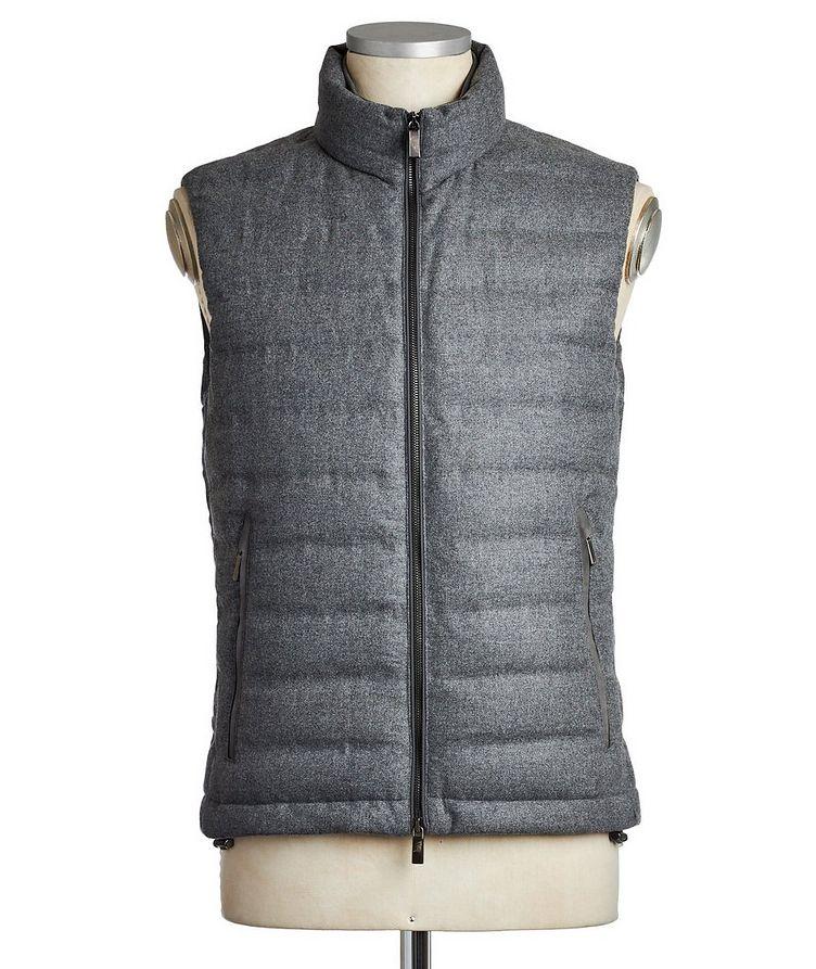 Wool, Silk & Cashmere Down Vest image 0