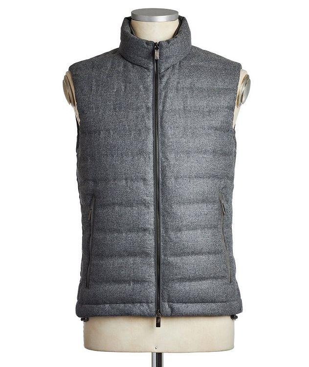 Wool, Silk & Cashmere Down Vest picture 1