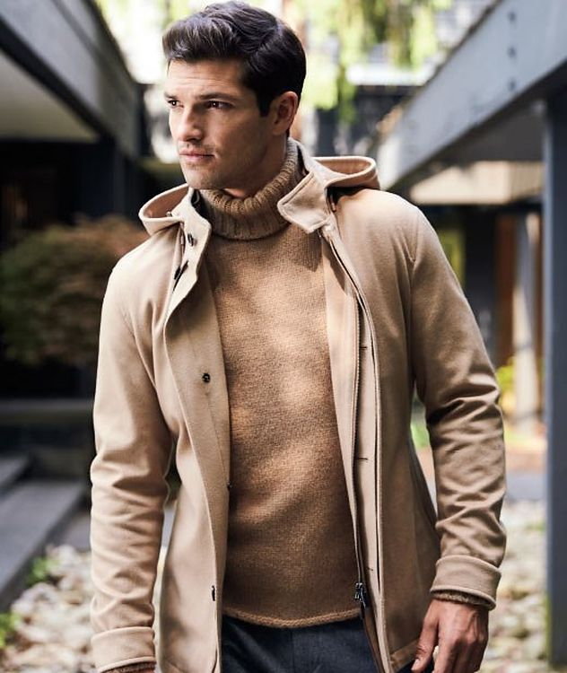 Water-Repellent Cashmere Jacket picture 4