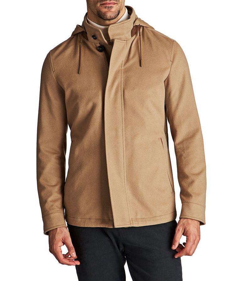 Water-Repellent Cashmere Jacket image 0