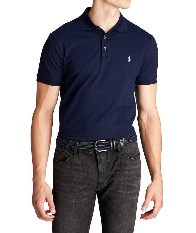 Stretch-Cotton Polo image 0