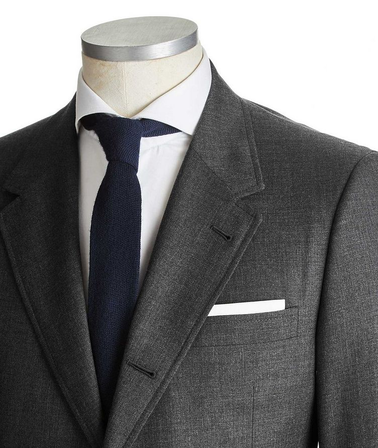 Super 120's Wide Lapel Suit image 1