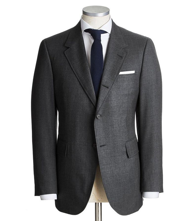 Super 120's Wide Lapel Suit image 0