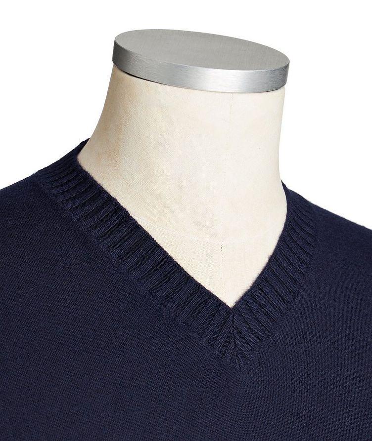 Duvet Cashmere V-Neck Sweater image 1